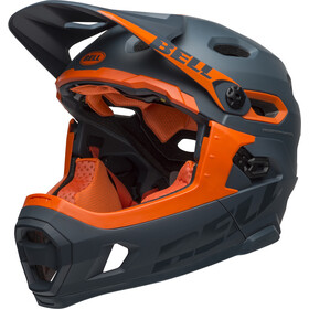 Bell Super DH MIPS Casque, matte/gloss slate/orange